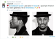 Shameik Moore Lead Actor in the Movie retweets his accomplishments as Smart is Sexy