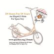 18 hours for 18 years ElliptiGO ride logo