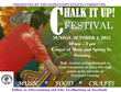 Village of Ossining Hosts Second Annual Chalk It Up! Festival on October 4
