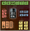 Products Made From Oil Infographic - CEG Holdings, LLC. - Austin, Texas