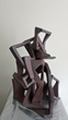 Connecticut Senior Juried Art Show: 4th Place Winner in Sculpture Category – Terry Russo, age 73, of North Haven, CT – King (Clay)