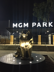 Rdh Interests Commissioned For Mgm Lion Sculpture