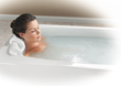 MicroDerm Therapeutic Bath infuses bathwater with millions of microbubbles for a relaxing bathing experience.