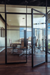Presidio Doors Installed Customized, Contemporary Steel Doors and Windows at Amini & Conant