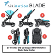 Pancake co-invents and co-designs the Nikimotion Blade baby stroller