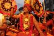 His Holiness Paramahamsa Nithyananda Heading a Grand Kumbh Mela Procession to the Shahi Snaan (sacred dip in Nectar of river Godavari) on September 11th in Nasik, India .