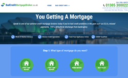 Bad Credit Mortgage Broker Homepage