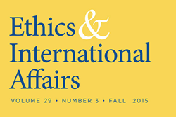 """Ethics & International Affairs""  fall issue"