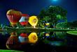 Hot Air Balloon Glow, Photo by Bob Ochoa