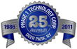 Phase 1 Technology Corp., vertically integrated distributor of industrial cameras, vision and imaging solutions since 1986. www.phase1tech.com, (888) 732-6474