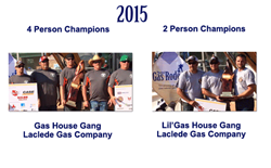 2015 National Gas Rodeo Champions