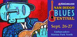 San Diego Blues Fest Logo