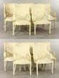 10 Enrique Garcel Bone Dining Chairs