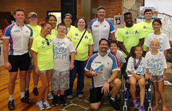 The BioPlus Specialty Pharmacy Team Accepts Fundraising Award at Camp Boggy Creek