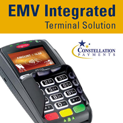 Integrated EMV Terminal Solution Provided by Constellation Payments