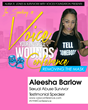 Aleesha Barlow (Survivor of Child Abuse) 2015 Conference Speaker