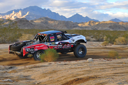Matt Lovell's Trophy Truck | Industrial Metal Supply