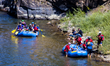 Rafting on the Colorado River during the 2014 Challenge.