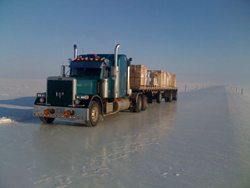 Long haul truck field test Full Torque Diesel Fuel Improver Alaska Ice Roads
