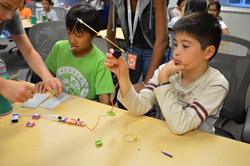 Silicon Valley littleBits fishing game.