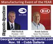 KIA Motors America and Blue Bird Corporation leadership to speak at the Georgia Manufacturing Summit
