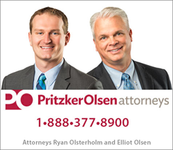 Attorneys Ryan Osterholm and Elliot Olsen
