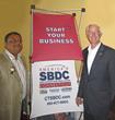 (l-r) Max Kothari, CEO, Express Kitchens and Bridgeport Mayor Bill Finch