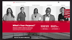 One view of Austin & Williams' new marketing campaign for Metropolitan College of New York