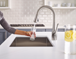 Clarify Faucet in Xtract Filter Mode home water filtration system
