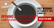 Crimson Cup Offers Sept. 24 Webinar on How to Open a Coffee Shop