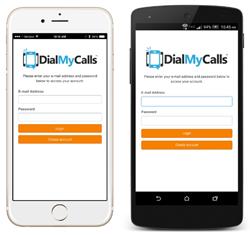 DialMyCalls Mobile App
