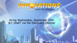 New Episode of Innovations Airing Wednesday, September 23, 2015 Via Discovery Channel