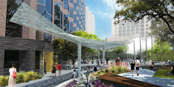 Exterior Rendering of Fareground at One Eleven