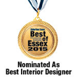 "Richard Bailey Interiors, LLC Nominated As ""Best Interior Designer"" in 2015 Best of Essex Readers' Choice Awards"