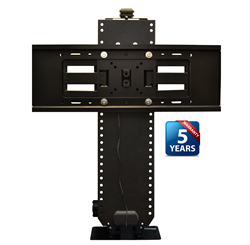 With RF and IR capability, 12v trigger sensing and programmable lift height memory, the Touchstone Whisper Lift II Pro Advanced TV Lift is popular with integrators and end-users.