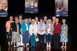 Thirteen-Adrian-Dominican-Sisters-at-Rosarian-Academy's-90th-celebration