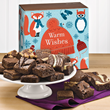 fudge brownies, new holiday packaging
