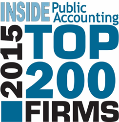 "PYA, a national certified public accounting and management consulting firm, is pleased to share it is again ranked as one of the ""Top 200 Firms"" as recognized annually by INSIDE Public Accounting (IPA).  PYA has continued its ascent, climbing into the 103"