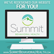 Summit Behavioral Health Launches Brand New Website with Revamped Design, User Experience
