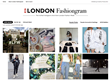 Londonfashiongram provides a real time dashboard of the latest #LFW Instagram posts