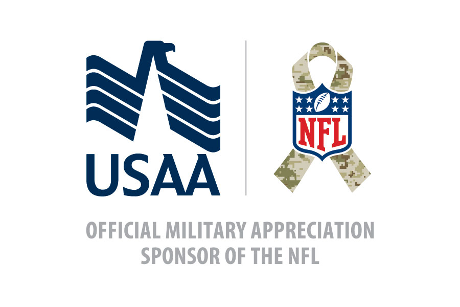 USAA Kicks Off Historic NFL Season with Salute to Service Military ...
