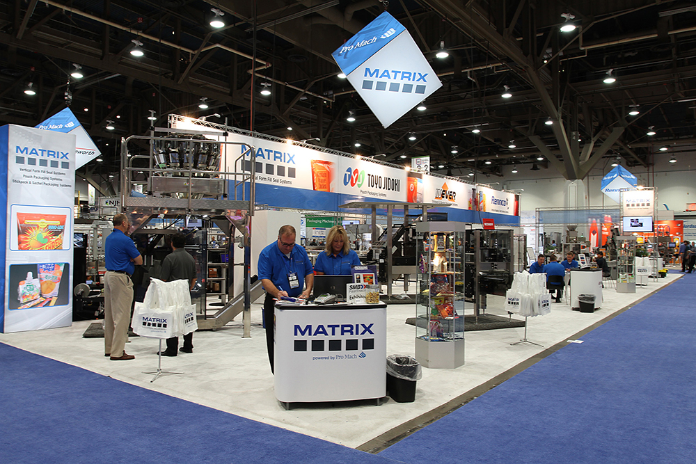 Exhibition Display Solutions : Pro mach brings a flexible packaging emporium of solutions