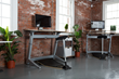 The award winning Locus and Sphere standing desk workstations from Focal Upright