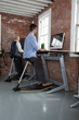 Locus standing desk workstation, ergonomic office chair