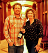 Ryan and Nicole Pease at 2013 Garagiste Festival Winemaker dinner
