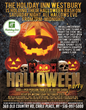 The Holiday Inn Westbury - Long Island Is Hosting A Special Saturday Night (All Hallows Eve) Halloween Party For Guests To Have A Frightening Good Time.