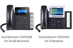 Grandstream GXP1600 and GXP2100 Series VoIP Phones