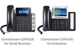 Updated VoIP Phones from the Grandstream GXP1600 Small Business Series and GXP2100 Enterprise Series Available at VoIP Supply