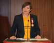 International Scientology Volunteer Ministers Director, awarded a CINAT medal for her work coordinating disaster response after this year's Nepal earthquake. Volunteer Ministers and CINAT worked in partnership to provide search and rescue in that country.