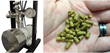 ShockWave Power™ Reactor in ApoWave System and typical brewing hop pellets.